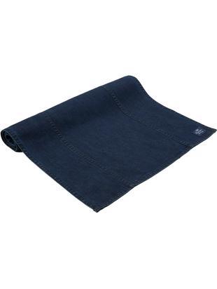 Bieżnik Denim, Bawełna, Jeansowy niebieski, S 50 x D 150 cm