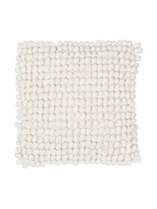 Cuscino con imbottitura  Bergen, Bianco latteo, Larg. 45 x Lung. 45 cm