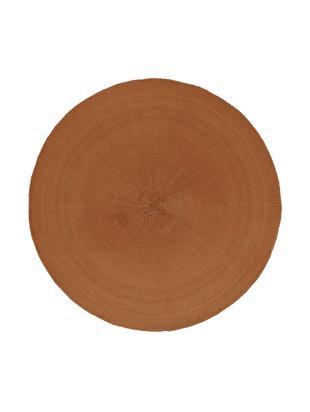 Okrągła podkładka Kolori, 2 szt., Włókna papierowe, Terakota, Ø 38 cm