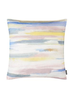 Federa arredo in tonalità pastello Alberto, Cotone, Multicolore, Larg. 40 x Lung. 40 cm
