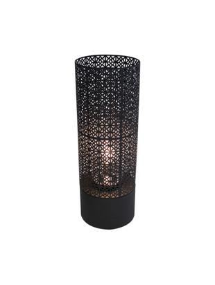 Lámpara de pie para exterior Maison, Lámpara: metal, pintura en polvo, Negro, Ø 24 x Al 78 cm