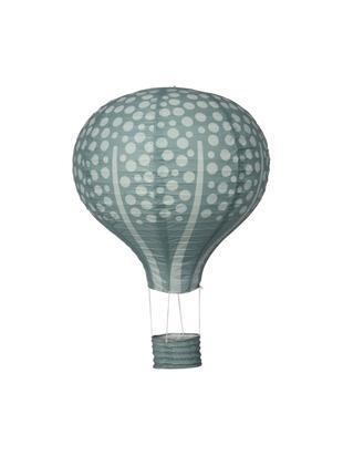 Dekoracja Forest Balloon, Papier, metal, bawełna, Zielony miętowy, zielony, Ø 40 cm
