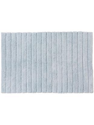 Alfombrilla de baño Board, Algodón Gramaje superior 1900g/m², Azul claro, An 60 x L 90 cm