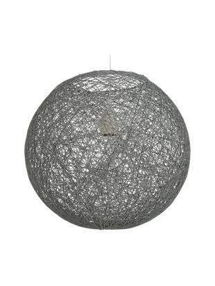 Lampada a sospensione in carta Tvist, Paralume: carta, Baldacchino: materiale sintetico, Grigio, Ø 38 x Alt. 36 cm