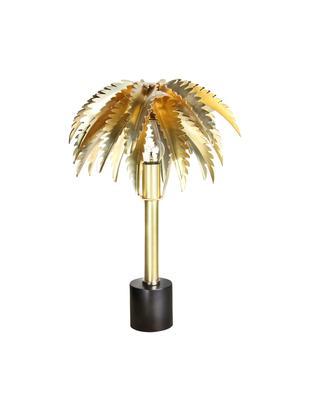 Lampada da tavolo Palemke, Ottone, nero, Ø 29 x A 45 cm