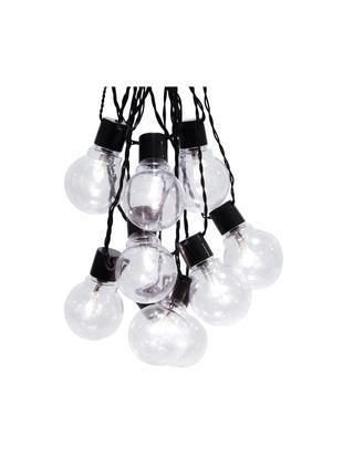 Guirnalda de luces LED Partaj, 950cm, Negro, L 500 cm