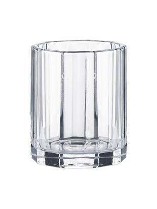 Vaso in vetro Plisa, Vetro, Trasparente, Ø 8 x Alt. 10 cm