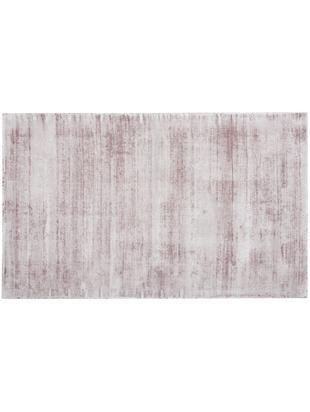Handgewebter Viskoseteppich Jane, Flor: 100% Viskose, Flieder, B 90 x L 150 cm (Größe XS)