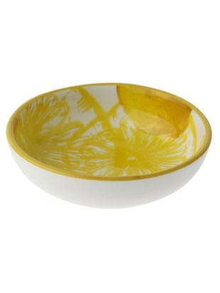Miseczka Lemon, 2 szt., Porcelana, Biały, żółty, Ø 9 x W 3 cm