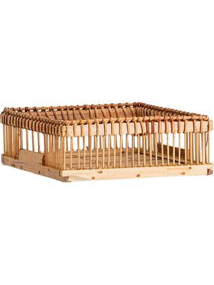 Stojak na serwetki Lamgo, Drewno bambusowe, Drewno bambusowe, S 18 x G 18 cm