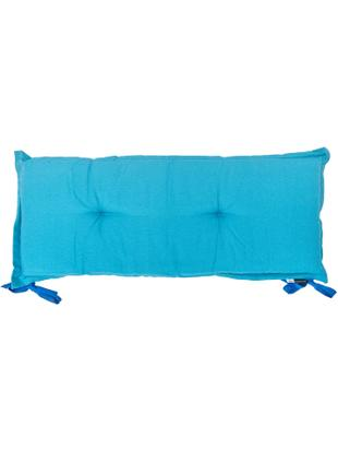 Nakładka na ławkę Panama, 50% bawełna, 45% poliester, 5% inne włókna, Turkusowy, S 48 x D 120 cm