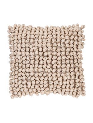 Cuscino con imbottitura  Bergen, Sabbia, Larg. 45 x Lung. 45 cm