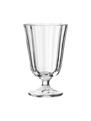 Kleine Weingläser Ana im Landhausstil, 12er-Set, Glas, Transparent, 195 ml