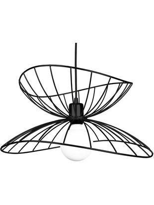 Lampa wisząca Ray, Czarny, Ø 45 x W 25 cm