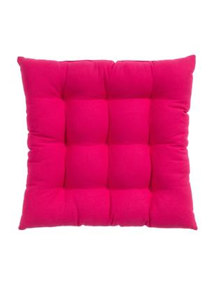Cuscino sedia Ava, Rosa, Larg. 40 x Lung. 40 cm