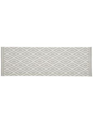 Chodnik wewnętrzny/zewnętrzny Miami, Biały, szary, S 80 x D 250 cm