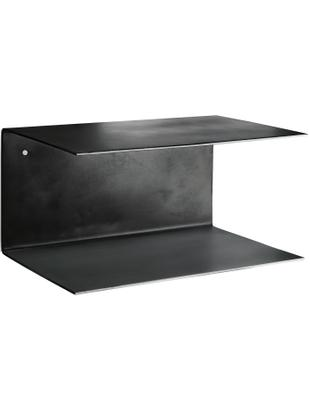 Estantería de pared Phantom, 2 uds., Metal pintado, Negro, An 30 x Al 15 cm