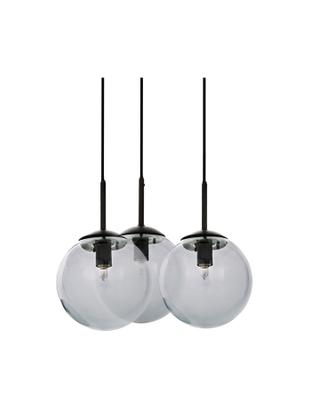 Lampa wisząca Edie, Szary, czarny, Ø 30 cm