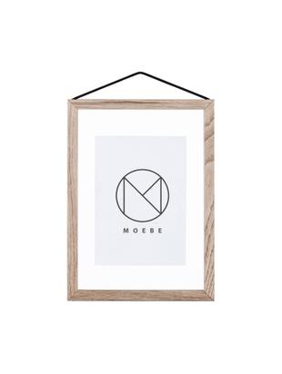 Cornice Frame, Cornice: legno di quercia, non tra, Cornice: legno di quercia<br>Sospensione: nero<br>Frontale e posteriore: traspar, L 17 x A 23 cm