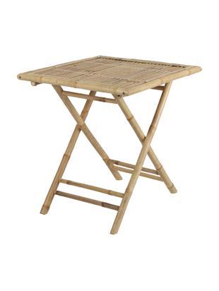 Bamboehouten tafel Tropical, Bamboehout, Bruin, B 70 x D 70 cm