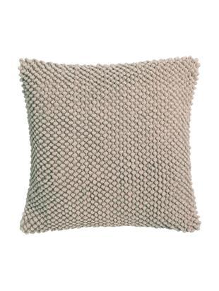 Federa arredo in cotone Indi, Rosa, Larg. 45 x Lung. 45 cm