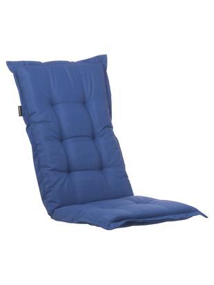 Hochlehner-Stuhlauflage Panama, Bezug: 50% Baumwolle, 50%Polyes, Marineblau, 50 x 123 cm