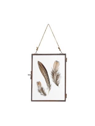 Fotolijstje Pioros, Frame: gecoat metaal, Koperkleurig, transparant, 13 x 18 cm