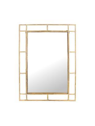 Espejo de pared cuadrado Jake, Espejo: cristal, Latón, An 70 x Al 99 cm