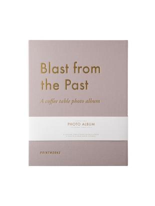Álbum de fotos Blast from the Past, Gris pardo, dorado, L 34 x An 29 cm