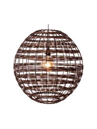 Lámpara de techo Broom, Ratán, Marrón oscuro, Ø 62 x Al 62 cm
