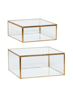 Komplet pudełek do przechowywania Karie, 2 elem.