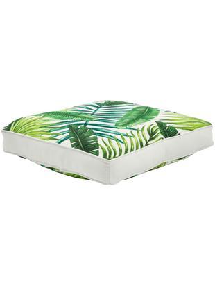 Poduszka na siedzisko Jonna, Zielony, kremowobiały, S 40 x D 40 cm