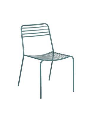 Krzesło balkonowe z metalu Tula, 2szt.