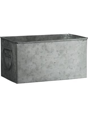 Portavaso Zintly, Metallo zincato, Zinco, Larg. 17 x Alt. 9 cm
