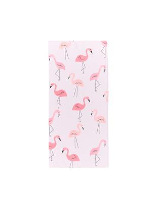 Ręcznik plażowy Flament, 55% poliester, 45% bawełna Bardzo niska gramatura, 340 g/m², Blady różowy, S 70 x D 150 cm