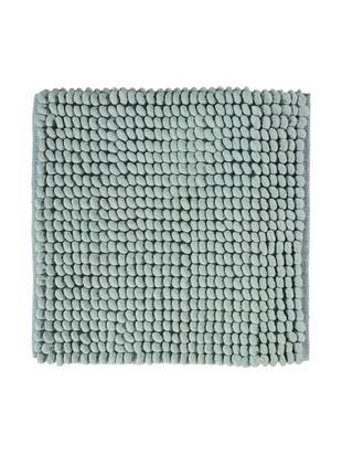 Dywanik łazienkowy Luka, 67% poliester, 33% bawełna, Jasny zielony, S 60 x D 60 cm