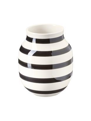 Vase Qualität Glas Design Schwarze HANDGEFERTIGTE Wohnen