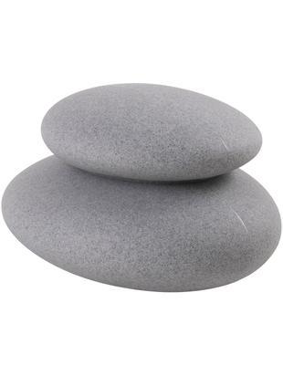 Zewnętrzna mobilna lampa Shining Stone, Tworzywo sztuczne, Szary, S 39 x W 22 cm