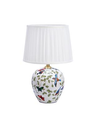 Lampka Mansion, Biały, wielobarwny, Ø 31 x 45 cm