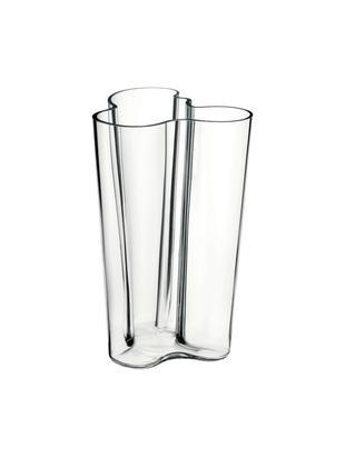 Vaas Alvar Aalto, Glas, Transparant, 17 x 25 cm