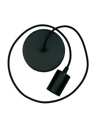 Zawieszenie do lampy Pudel, Czarny, Ø 6 x W 10 cm