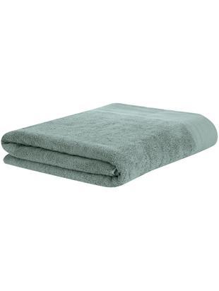 Asciugamano con bordo decorativo Premium, Verde salvia, Asciugamano per ospiti Larg. 30 x Lung. 30 cm