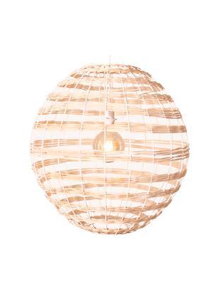 Lampa wisząca Broom, Rattan, Jasny brązowy, Ø 62 x W 62 cm