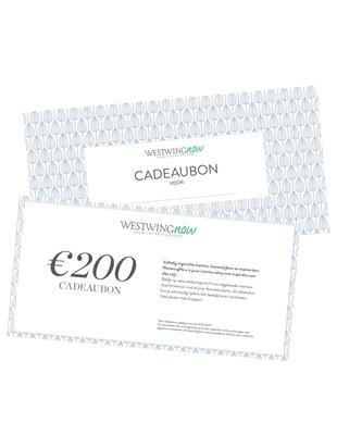 Cadeaubon, Cadeaubon op hoogwaardig papier, Wit, 200