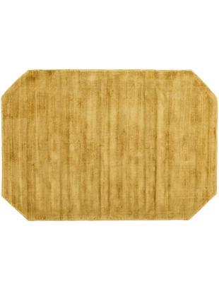 Dywan z wiskozy Jane Diamond, Musztardowy, S 120 x D 180 cm