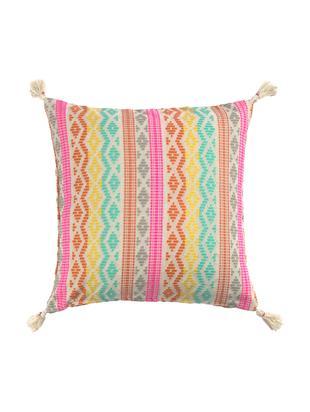 Poszewka na poduszkę Cancun, Bawełna, Wielobarwny, S 45 x D 45 cm