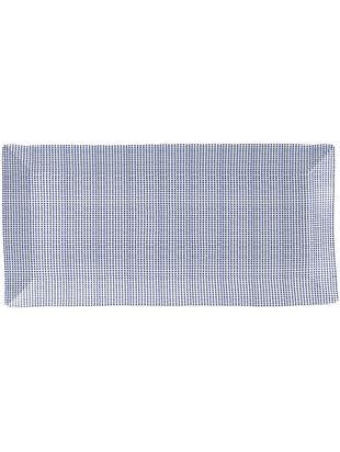 Piatto da portata Pacific, Porcellana, Bianco, blu, L 39 x P 18 cm