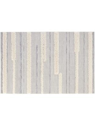 In- und Outdoorteppich Ifrane in Grau-Creme, Flor: Polypropylen, Creme, Grau, B 115 x L 170 cm (Größe S)