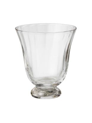 Bicchiere da vino senza gambo Trellis 2 pz, Vetro, Trasparente, Ø 8 x Alt. 11 cm