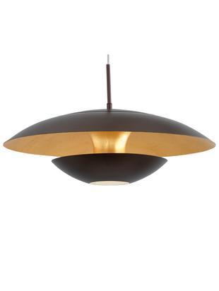 Lampada a sospensione marrone Nuvano, Marrone dorato, Ø 48 x Alt. 18 cm